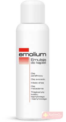 Emolium Emulsja do kąpieli 200ml
