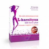 L-Karnityna 500 Forte Plus 60 kaps.