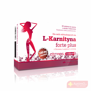 L-Karnityna Forte Plus 80 tabl.do ssania